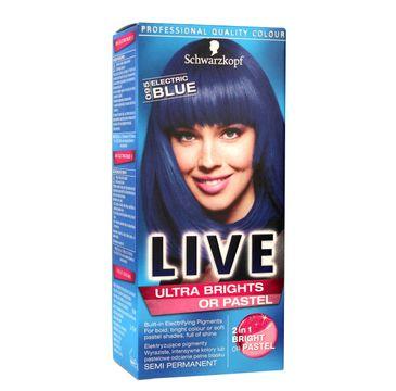 Schwarzkopf Live krem do włosów koloryzujący nr 095 elektryczny błękit 80 ml