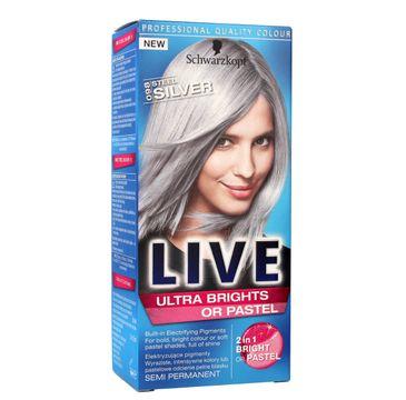 Schwarzkopf Live krem do włosów koloryzujący nr 098 srebrny 80 ml