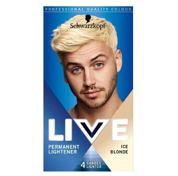 Schwarzkopf Live Men farba do włosów dla mężczyzn 00B Ice Blonde (1 op.)