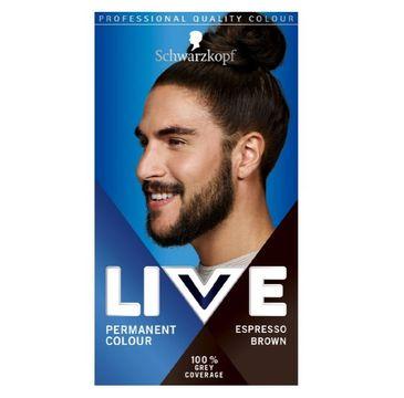 Schwarzkopf Live Men farba do włosów dla mężczyzn 880 Espresso Brown (1 op.)