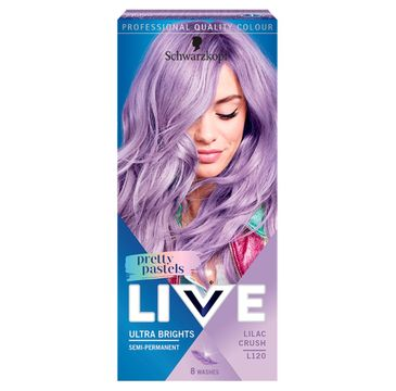 Schwarzkopf Live Pretty Pastels – krem koloryzujący L120 Lilac Crush (1 op.)