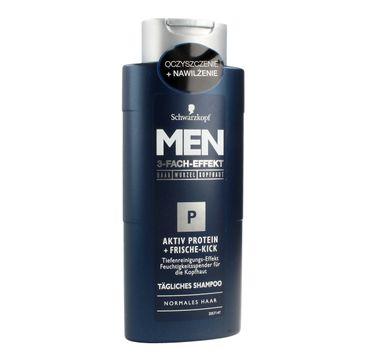 Schwarzkopf Men szampon do włosów oczyszczający z proteinami 250 ml
