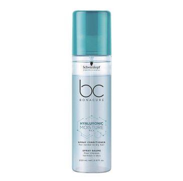 Schwarzkopf Professional BC Hyaluronic Moisture Kick odżywka do włosów w sprayu 200ml