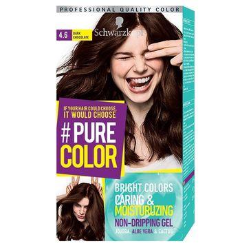 Schwarzkopf Pure Color farba do włosów w żelu nr 4.6 Dark Chocolate 1 op.