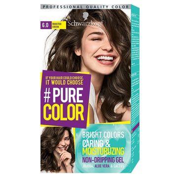 Schwarzkopf Pure Color farba do włosów w żelu nr 6.0 Roasted Cocoa 1 op