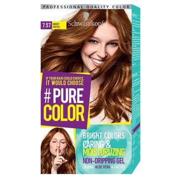 Schwarzkopf Pure Color farba do włosów w żelu nr 7.57 Sweet Toffee 1 op.