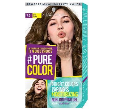 Schwarzkopf Pure Color farba do włosów w żelu nr 7.0 Nude Blond 1 op