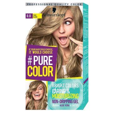Schwarzkopf Pure Color farba do włosów w żelu nr 8.0 True Blond 1 op.
