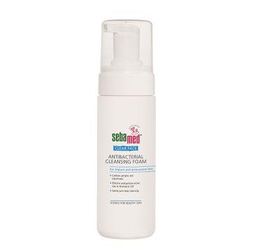 Sebamed Clear Face Antibacterial Cleansing Foam oczyszczająca pianka do twarzy 150ml