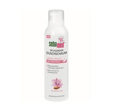 Sebamed Pflegender Duschschaum odżywcza pianka pod prysznic z pantenolem dla skóry wrażliwej (200 ml)
