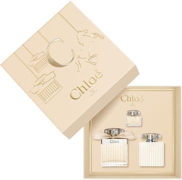 Chloe – Zestaw Signature Woda Perfumowana 75ml, 5ml, Balsam Do Ciała 100ml (1 szt.)