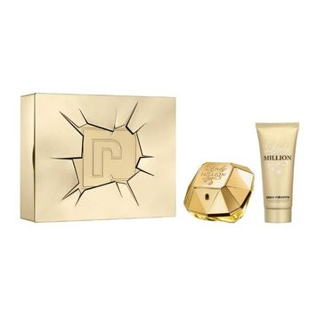 Paco Rabanne – Lady Million zestaw woda perfumowana 80 ml + balsam do ciała ( 1 szt.)
