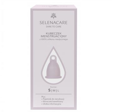 SELENACARE Premium kubeczek menstruacyjny z silikonu medycznego S
