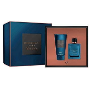 Cristiano Ronaldo Legacy Private Edition Pour Homme – zestaw woda perfumowana (50ml) + żel pod prysznic (150ml)