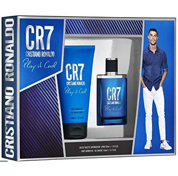 Cristiano Ronaldo Play it Cool Men – zestaw woda toaletowa (30ml) + żel pod prysznic  (150ml)