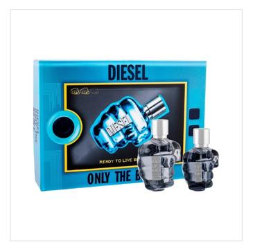 Diesel Only The Brave for Man – zestaw woda toaletowa (75ml) + woda toaletowa (35ml)