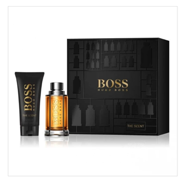 Boss The Scent For Man – zestaw woda toaletowa spray (50ml) + żel pod prysznic (100ml)