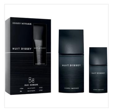 Nuit D'Issey  Pour Homme zestaw woda toaletowa spray (125ml) + woda toaletowa spray (40ml)