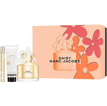Marc Jacobs Daisy – zestaw woda toaletowa (100 ml) + woda toaletowa (10 ml) + balsam do ciała (75 ml)