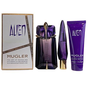 Alien – Mugler Woda perfumowana (60ml) + Balsam do ciała (50ml) + woda perfumowana (10ml)