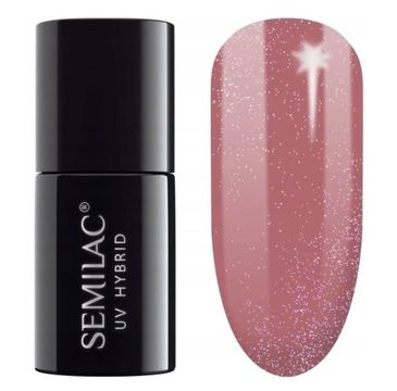 Semilac – Lakier hybrydowy nr 321 Shimmer Dust Caramel (7 ml)