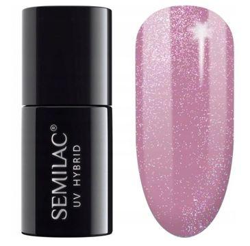 Semilac – Lakier hybrydowy nr 319 Shimmer Dust Pink (7 ml)