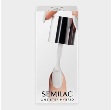 Semilac – lakier hybrydowy One Step S110 The White (5 ml)