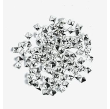 Semilac – Ozdoba do paznokci Srebrny kwadrat duży 773 (100 szt.)