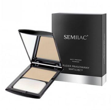 Semilac – puder prasowany 20 matujący Light Beige (7 g)