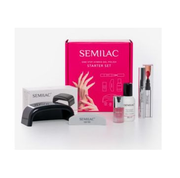Semilac – zestaw One Step Hybrid (1 szt.)
