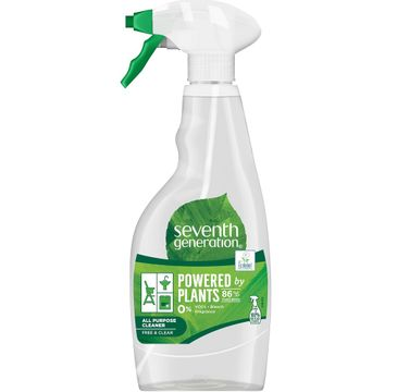 Seventh Generation Powered By Plants All Purpose Cleaner uniwersalny spray czyszczÄ…cy Free & Clear 500ml