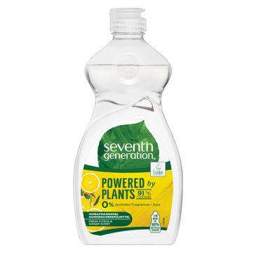 Seventh Generation Powered By Plants Hand Dish Wash płyn do mycia naczyń Fresh Citrus & Ginger Scent 500ml