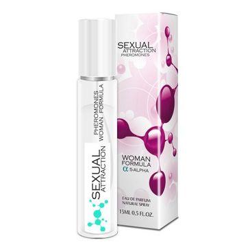 Sexual Attraction Pheromones Woman Formula 5-Alpha feromony dla kobiet woda perfumowana spray (15 ml)