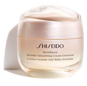 Shiseido Benefiance Wrinkle Smoothing Cream Enriched wzbogacony krem wygładzający zmarszczki 50ml