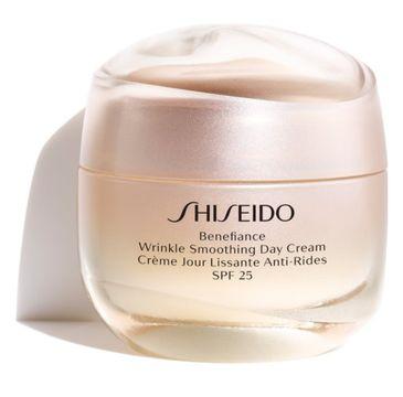 Shiseido Benefiance Wrinkle Smoothing Day Cream SPF25 krem wygładzający zmarszczki na dzień 50ml