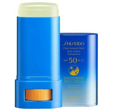 Shiseido Clear Suncare Stick SPF50+ krem do opalania w sztyfcie (20 g)