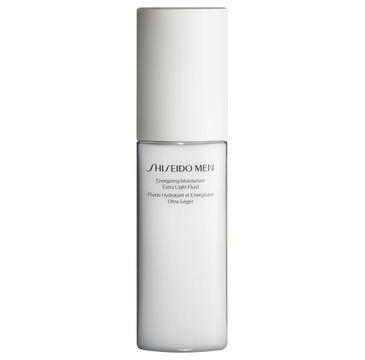 Shiseido Men Energizing Moisturizer Extra Light Fluid nawilżająca emulsja energetyzująca do twarzy (100 ml)