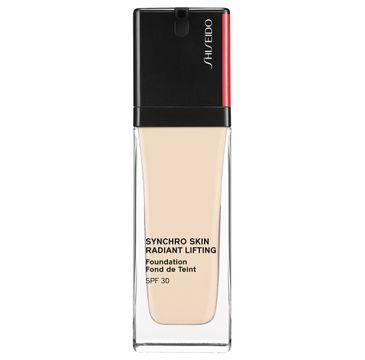 Shiseido Synchro Skin Radiant Lifting Foundation SPF30 rozświetlająco-liftingujący podkład 120 Ivory (30 ml)