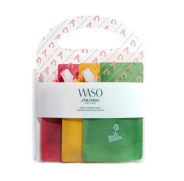 Shiseido Waso Reset Cleanser Squad produkty do oczyszczania twarzy 3x70ml