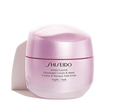 Shiseido White Lucent Overnight Crem & Mask krem-maska na noc 75ml