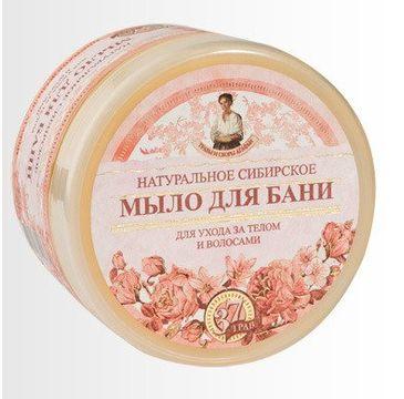 Receptury Babuszki Agafii naturalne syberyjskie kwiatowe mydło do mycia ciała oraz włosów (500 ml)