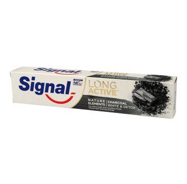Signal Long Active Pasta do zębów Charcoal 75 ml