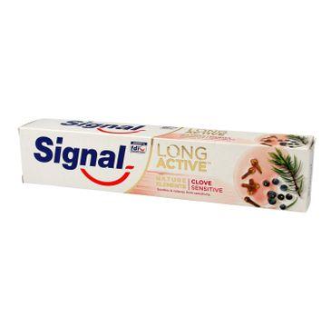 Signal Long Active Pasta do zębów Clove Sensitive 75 ml