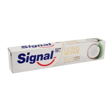 Signal Long Active Pasta do zębów Coco White 75 ml