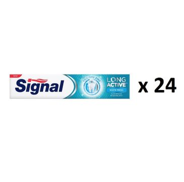 Signal Long Active White Fresh pasta do zębów 24x75ml