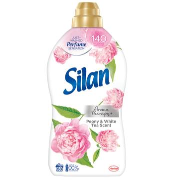 Silan Aromatherapy Peony & White Tea Scent płyn do zmiękczania tkanin 58 prań (1450 ml)