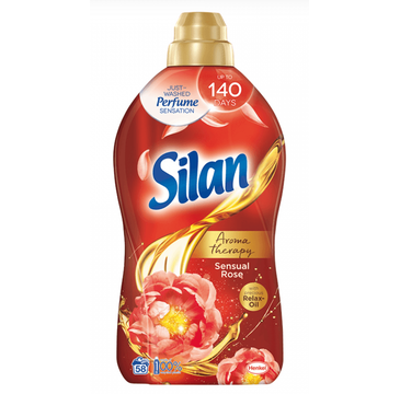 Silan Aromatherapy Sensual Rose płyn do zmiękczania tkanin 58 prań (1450 ml)