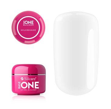 Silcare – Base One Builder Gel UV żel budujący do paznokci Milkshake (50 g)