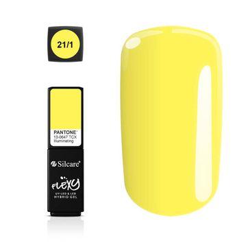 Silcare – Flexy Hybrid Gel Pantone lakier hybrydowy 21/1 Iluminating (4.5 g)