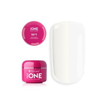 Silcare Gel Base One Bianco Naturale W1 żel budujący do paznokci (15 g)